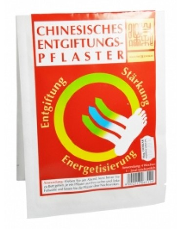 chinesische Entgiftungspflaster 2St
