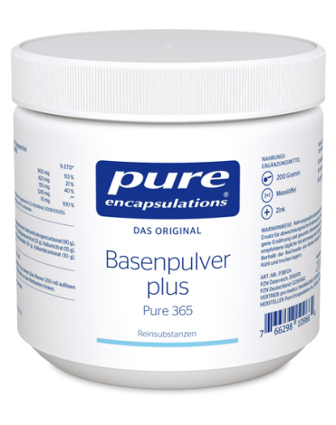 Pure encaps.Basenpulver plus