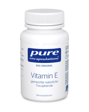 Vitamin E pure encaps.