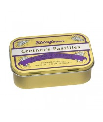 Grether´s Pastillen Elderflower zuckerfrei 110g