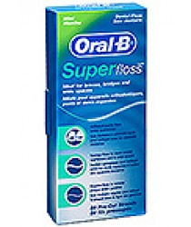 Zahnseide Oral B Superfloss 50m