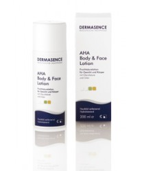 Dermasence AHA Body+Face Lotion 200ml